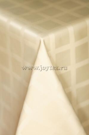 006 Ткань Журавинка 04С47-КВгл+ГОМ т.р.1 цвет 110617 сливочный, ширина 155см