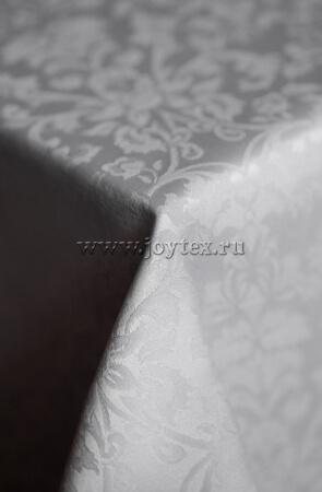 """Скатерть """"рис 1472 010301 серебристый"""" коллекция """"Журавинка"""""""