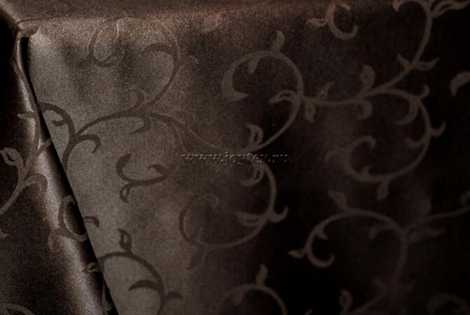101 Ткань Журавинка 03С5-КВ+ отб+ГОМ рис 1927 091001 горький шоколад