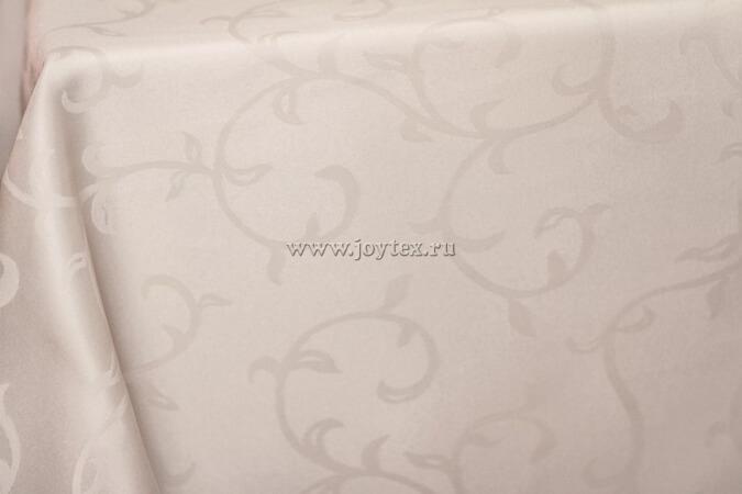 """Скатерть """"рис 1927 110701 слоновая кость"""" коллекция """"Журавинка"""""""