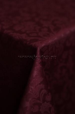 """Скатерть """"рис 1472 161004 бордовый"""" коллекция """"Журавинка"""""""