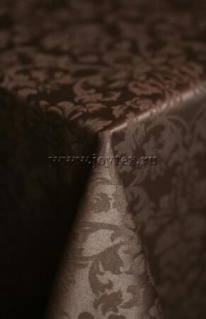 """Скатерть """"рис 1472 090902 тёмный шоколад"""" коллекция """"Журавинка"""""""