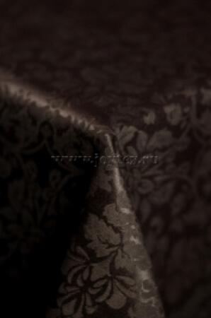 """Скатерть """"рис 1472 091001 горький шоколад"""" коллекция """"Журавинка"""""""