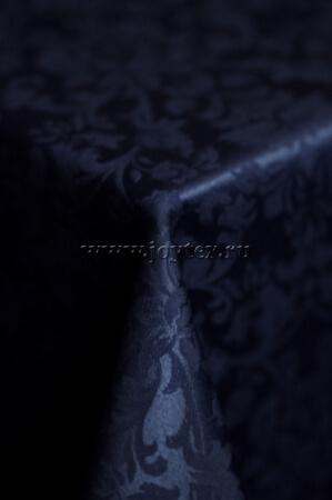 """Скатерть """"рис 1472 251803 темно-синий сапфир""""  коллекция """"Журавинка"""""""