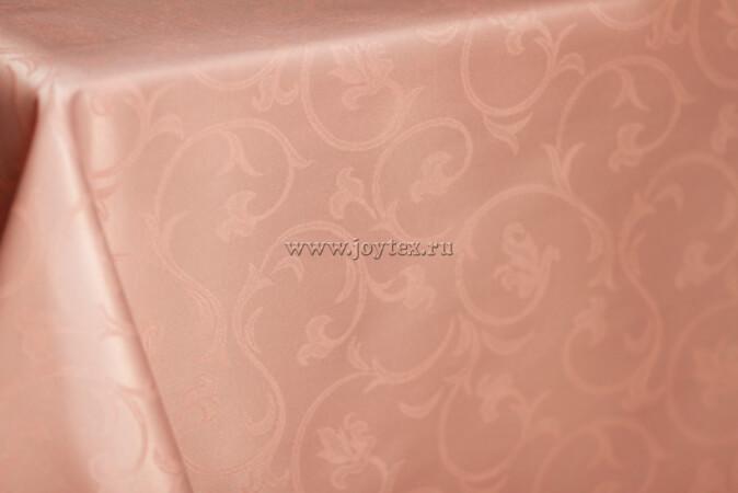 """Скатерть """"рис 2233 080305 нежный персик, лососевый"""" коллекция """"Журавинка"""""""