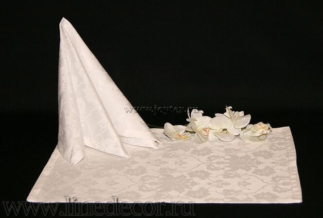 """Дорожка """"Белый 1589 цвет 010101"""" коллекция """"Ричард"""""""