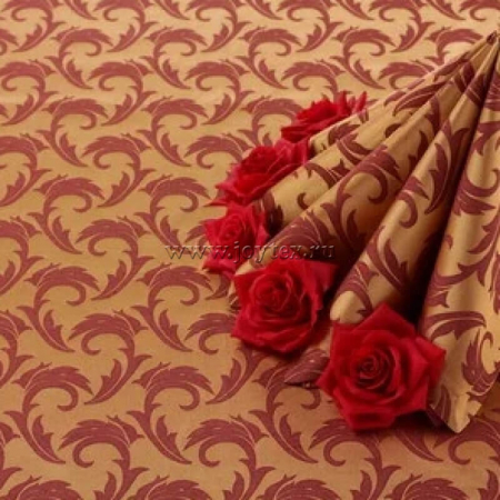 """Дорожка """"рис 1625/040403/161004 бордовый с золотом"""" коллекция """"Мати"""""""