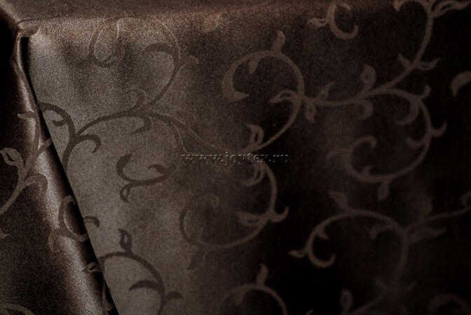 "Дорожка ""рис 1927 091001 горький шоколад"" коллекция ""Журавинка"""