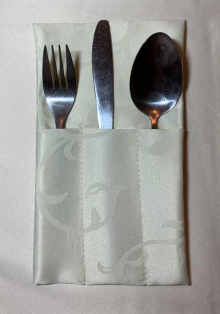 Куверт тройной прямой Журавинка рис 1927/110701 Слоновая кость