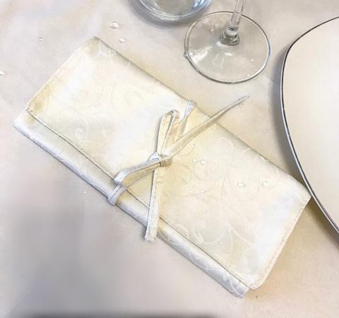 Куверт-зефир двойной Ричард рис 1812/110701 Шампань