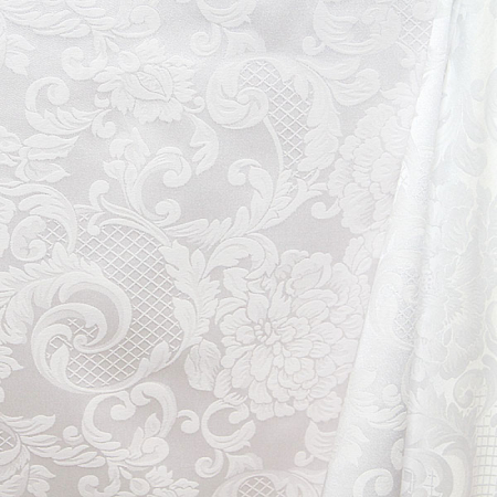 Скатерть жаккардовая ткань LIVORNO 1