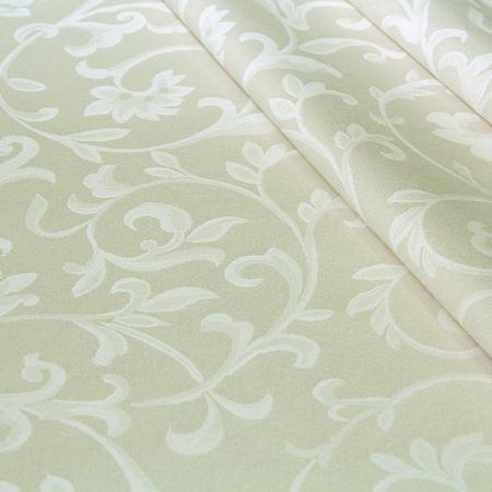 Скатерть жаккардовая ткань Milan beige