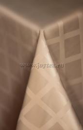 003 Ткань Журавинка 04С47-КВгл+ГОМ т.р.1 цвет 060402 кофе с молоком, ширина 155см