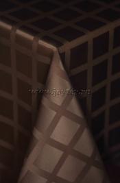 004 Ткань Журавинка 04С47-КВгл+ГОМ т.р.1 цвет 090902 темный шоколад, ширина 155см