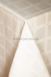 007 Ткань Журавинка 04С47-КВгл+ГОМ т.р.1 цвет  110701 слоновая кость, ширина 155см
