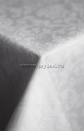 101 Ткань Журавинка арт 08С14-КВотб+ГОМ т.р. рис 1472 010101 белый, ширина 305см