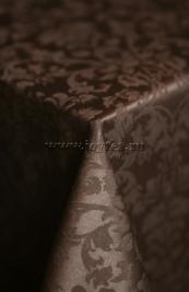 106 Ткань Журавинка 08С14-КВотб+ГОМ т.р. рис 1472 090902 тёмный шоколад, ширина 305см