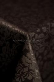 107 Ткань Журавинка 08С14-КВотб+ГОМ т.р. рис 1472 091001 горький шоколад, ширина 305см