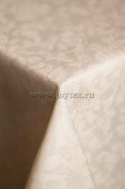 109 Ткань Журавинка 08С14-КВотб+ГОМ т.р. рис 1472 110701 слоновая кость, ширина 305см