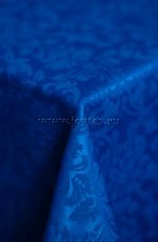 114 Ткань Журавинка 08С14-КВотб+ГОМ т.р. рис 1472 250805 васильковый, ширина 305см