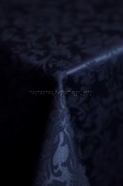 115 Ткань Журавинка 08С14-КВотб+ГОМ т.р. рис 1472 251803 темно-синий сапфир, ширина 305см