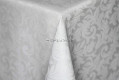 201 Ткань Ричард 08С6-КВотб+ГОМ т.р. 1625 010101 белый, ширина 305 см