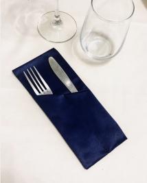 Куверт двойной скошенный левый Журавинка рис 2/251003 Темно-синий сапфир