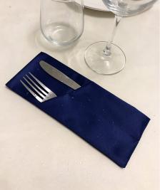 Куверт двойной скошенный левый Ричард рис 1346/194050 Темно-синий