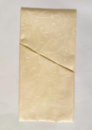 Куверт-зефир скошенный левый тройной Мати 2 рис 1812/141119 Светло-бежевый