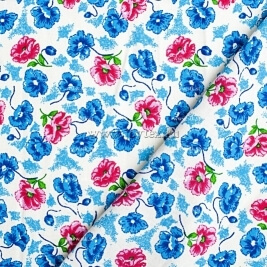"Ткань Фланель ""Цветущий сад"" белозем. ширина 150 арт. P1945 3178/1"