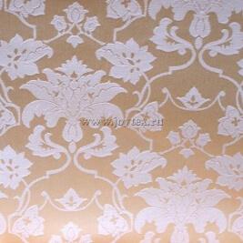 Ткань Мати 1 рис 1589/030202 сливочный, ширина 155см
