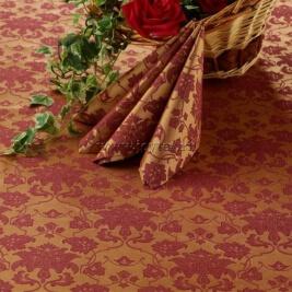 Ткань Мати 1 рис 1589/040403/161004 бордовый/золото, ширина 155см