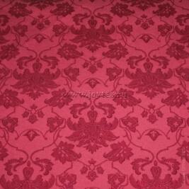 Ткань Мати 1 рис 1589 /161004 бордовый, ширина 155см