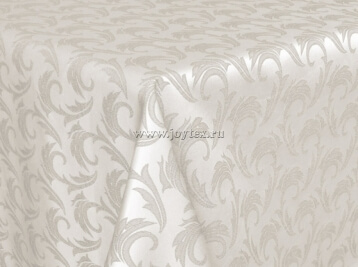 102 Ткань Ричард 08С6-КВгл+ГОМ т.р. 1625 цвет 110701 слоновая кость, ширины 305см
