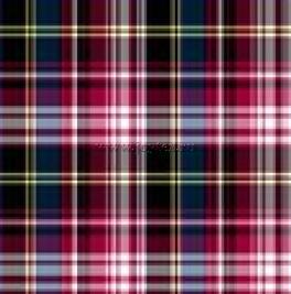 Ткань Шотландка Квилт рис. 1015, Вид 1