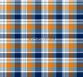 Ткань Шотландка Квилт рис. 2068, вид 1