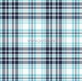 Ткань Шотландка Квилт рис. 2353, вид 1