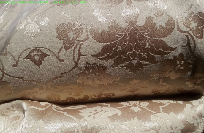 Ткань Мати 1 рис 1589/141119 светло бежевый, ширина 155см