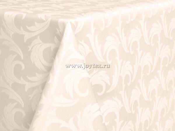 Ткань Ричард 08С6-КВгл+ГОМ т.р. 1625 цвет 11-0701 слоновая кость, ширина 305 см